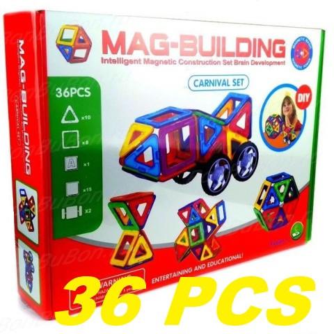 Магнитный конструктор Magical Magnet 36 деталей