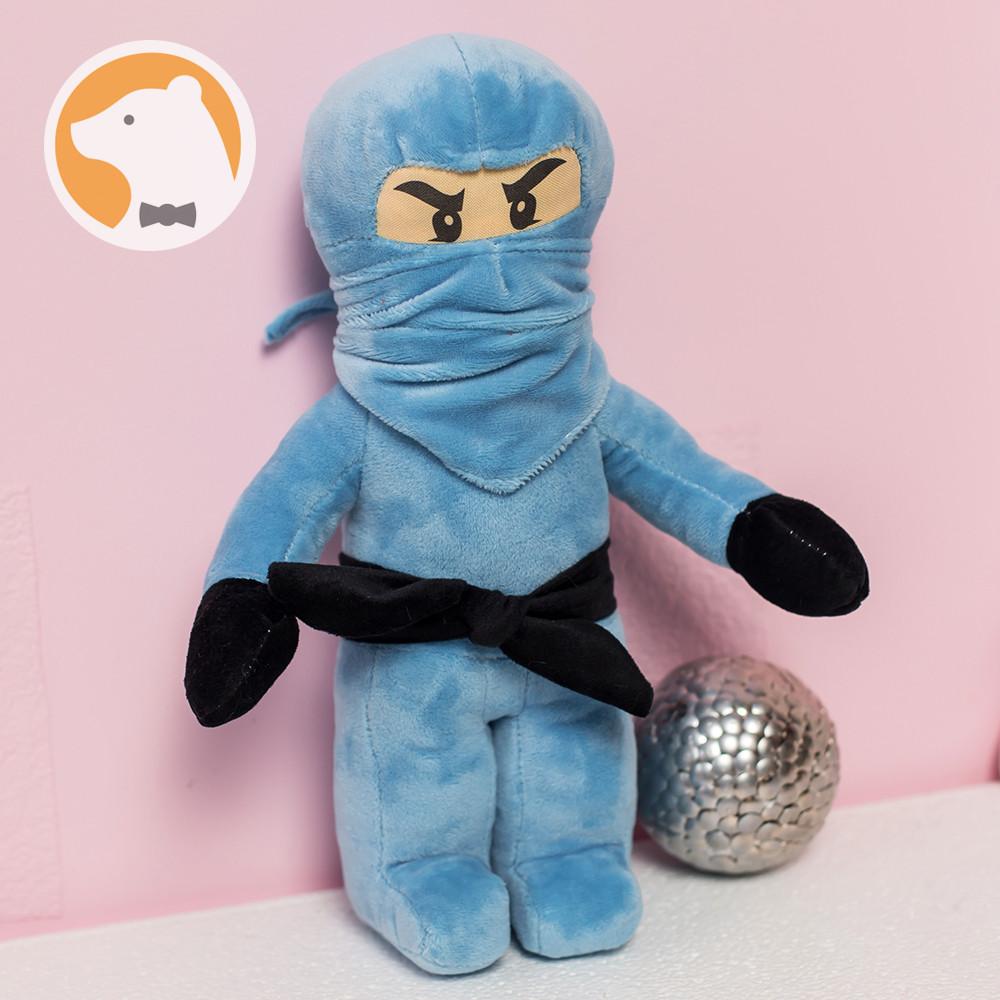 Мягкая игрушка Джей Ниндзя Ниндзяго, голубой