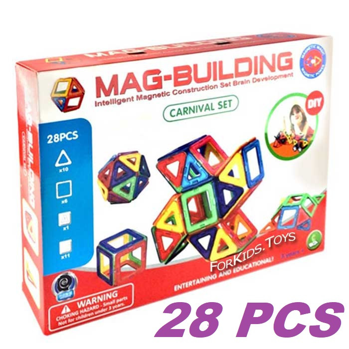Магнитный конструктор Magical Magnet 28 деталей