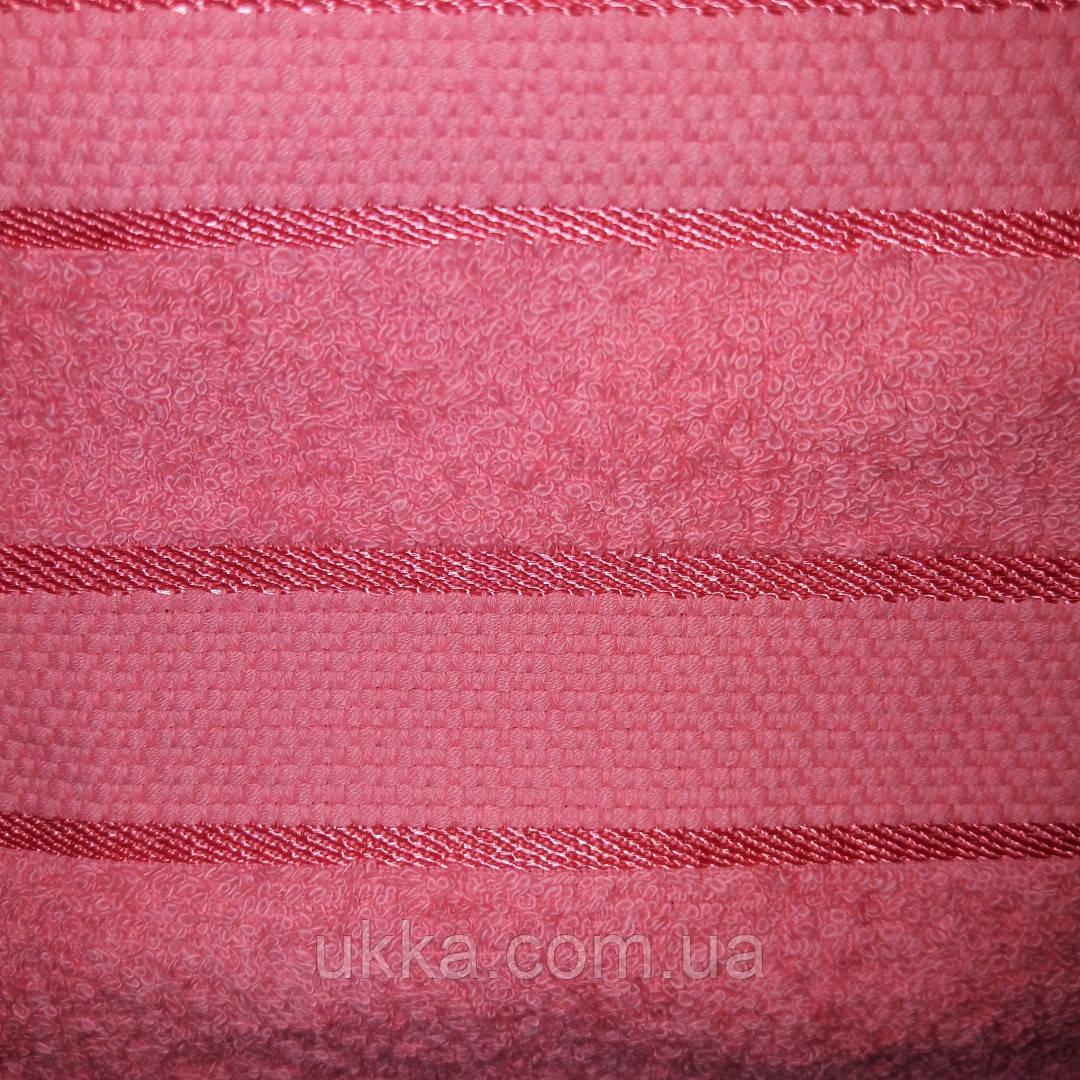 Полотенце махровое баня 70х140 100% хлопок Узбекистан Коралл
