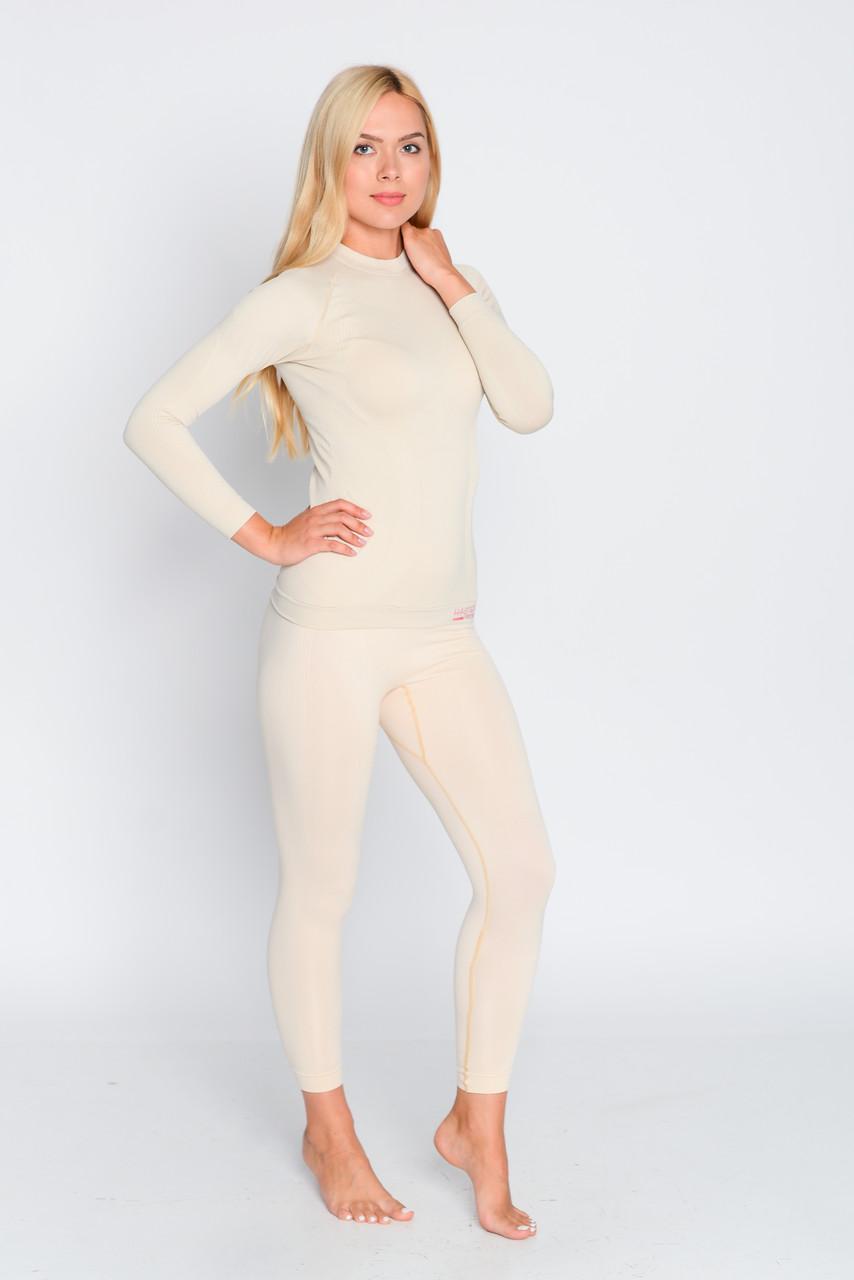 Комплект женского термобелья для спорта HASTER ProClima зональное бесшовное SportLavka