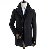 Мужское пальто осень-зима. Модель 8283, фото 2