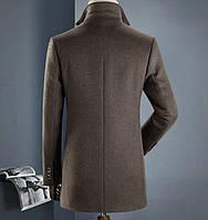 Мужское пальто осень-зима. Модель 8283, фото 5