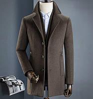 Мужское пальто осень-зима. Модель 8283, фото 4