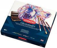 Набор цветных карандашей Coloursoft в дерев.ящике  48цв., Derwent