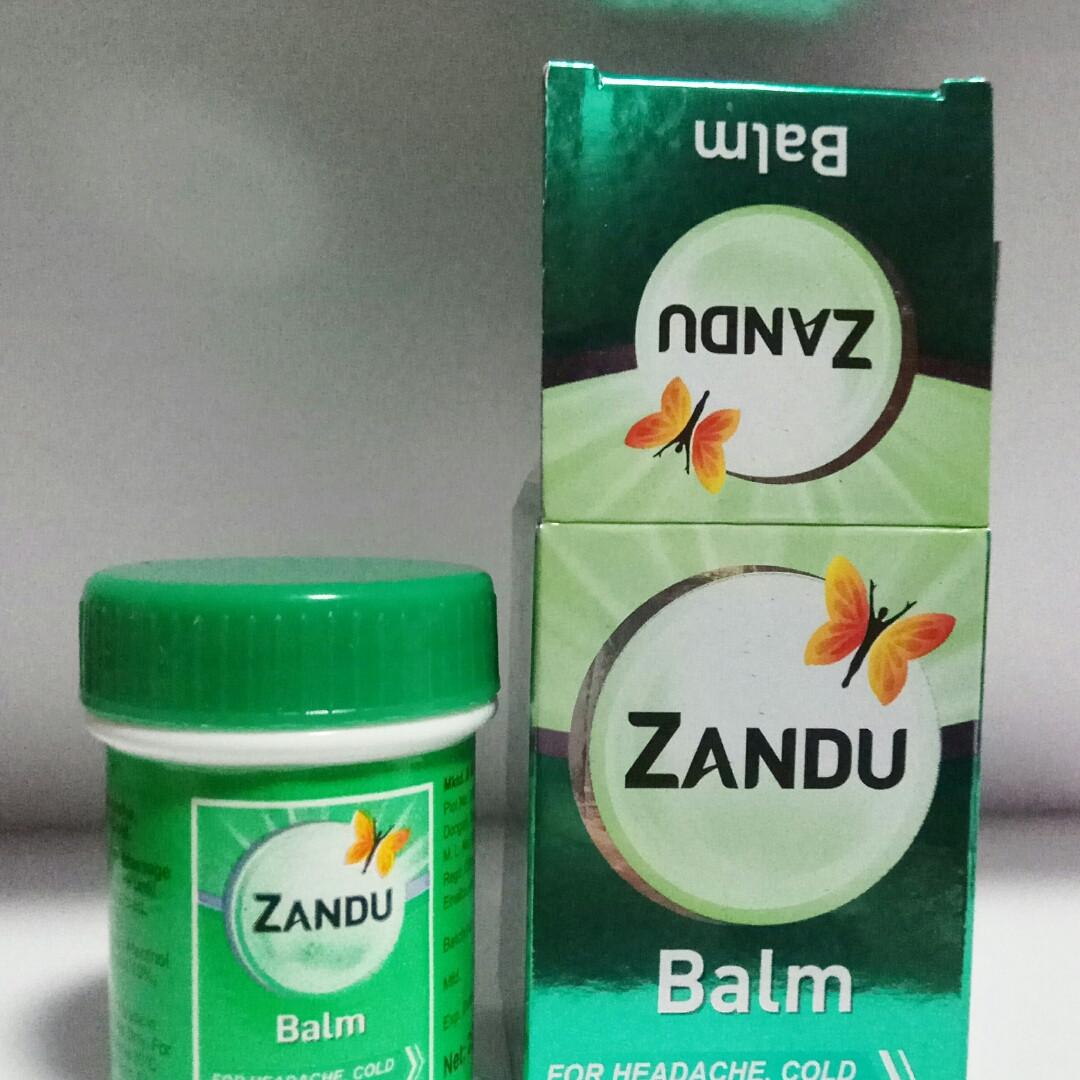 Zandu Занду Бальм, бальзам Занду Индия 25 мл
