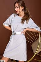 Платье женское демисезонное трикотаж люрекс 42-44,46-48 размеров,цвет белый