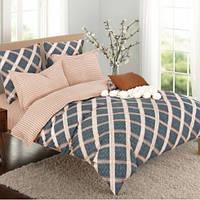 Комплект постельного белья Комфорт-текстиль ранфорс Пряность