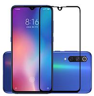 Защитное 2.5D стекло для Xiaomi (Ксиоми) Mi 9 (на весь экран)