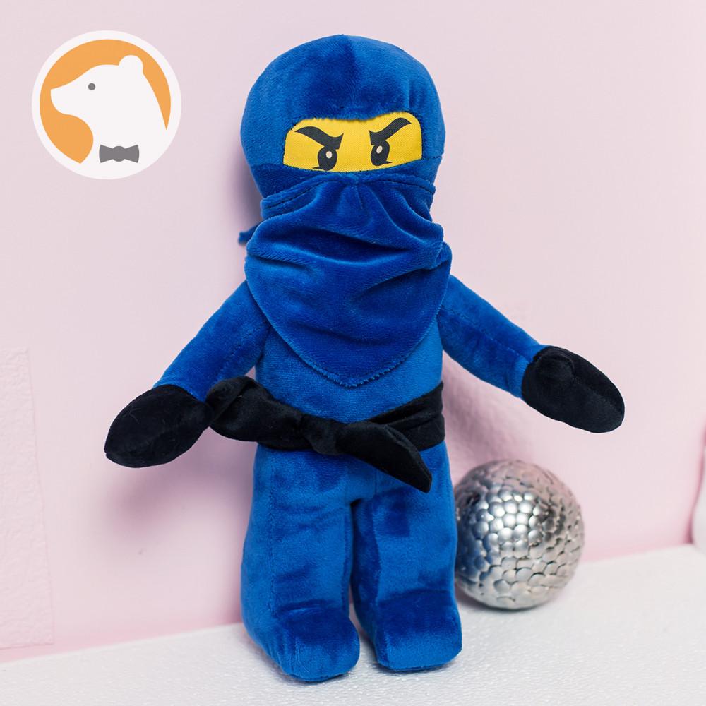 Мягкая игрушка Джей Ниндзя Ниндзяго, синий