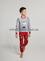 Піжама хлопчик Ellen Ведмежата з вушками підчос р.128 - 041/001/1