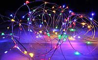 Гирлянда светодиодная роса 5 метров мультиколор, фото 1