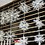 Новогоднее украшение Снежинка средняя, 3шт, фото 2