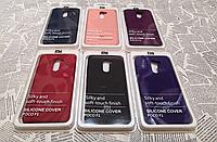 Резиновый брендовый Soft-touch чехол для Xiaomi (Ксиоми) Pocophone F1
