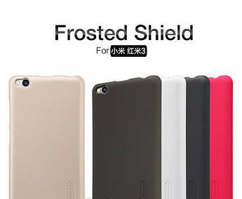 Чехол накладка Nillkin для Xiaomi Redmi 3 (5 цветов) + защитная пленка