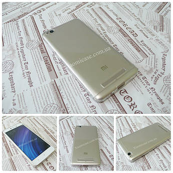 Ультратонкий 0,3 мм чехол для Xiaomi (Ксиоми) Redmi 4A прозрачный