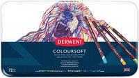 Набор цветных карандашей Coloursof в метал. короб., 72цв., Derwent