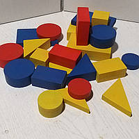Блоки Дьєнеша великі (60 шт), блоки для методики Д'єнеша