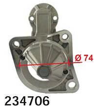 Передня кришка стартера KIA Carens Rio Shuma MAZDA 323 626 929 B 2000 B 2200 E 2000 MX-3 Xedos