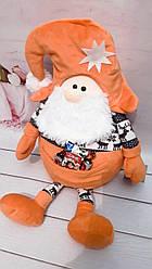 М'яка іграшка гномик Санта Клаус 53см