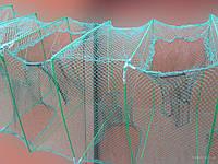 Раколовка (краболовка) Гармошка оснащенная 4 метра 12 входов