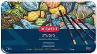 Набор цветных карандашей Studio в метал.короб. 72цв., Derwent