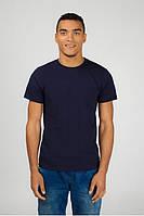 Чоловіча футболка темно-синього кольору