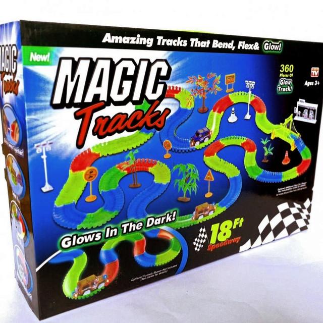 светящаяся дорога, Magic Tracks, 220, купить, описание, отзывы, видео, фото, недорого