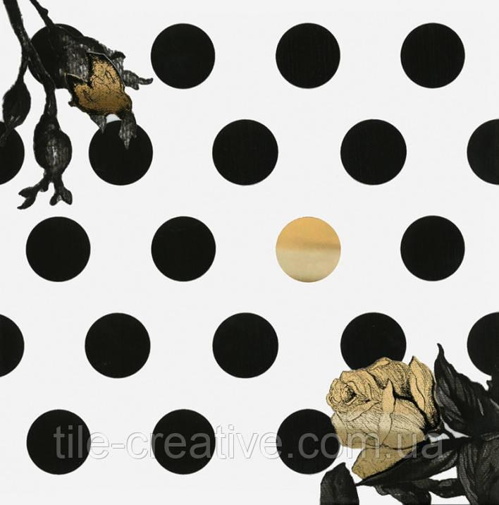 Керамическая плитка Декор Этуаль Цветок 15х15х6,9 STG\B613\17000