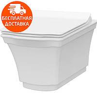 Чаша подвесного унитаза с функцией биде Idevit Neo Classic 3304-0615