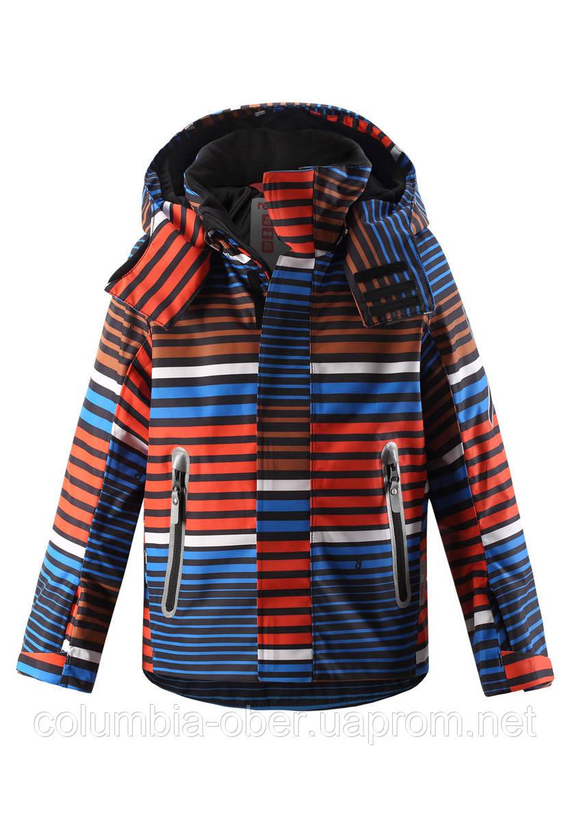 Зимняя горнолыжная куртка для мальчика Reimatec Regor 521615B-2774. Размеры 92 - 140.