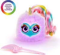 Мягкая интерактивная игрушка единорогСпаркл Люмиз Помзис Pomsies Lumies Rainbow- Sparkle Rush