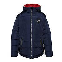 Куртка-трансформер 2 в 1 для мальчика «Тайфун» (демисезонная), куртка для мальчика