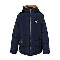 Куртка-трансформер 2 в 1 для мальчика «Тайфун» (демисезонная)