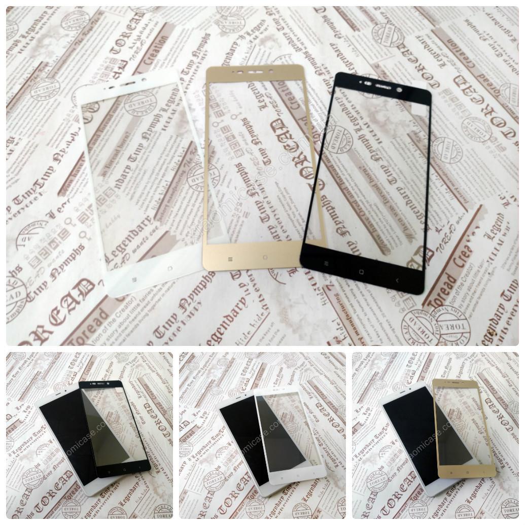 2D Защитное стекло для Xiaomi (Ксиоми) RedMi 4 (3 цвета)