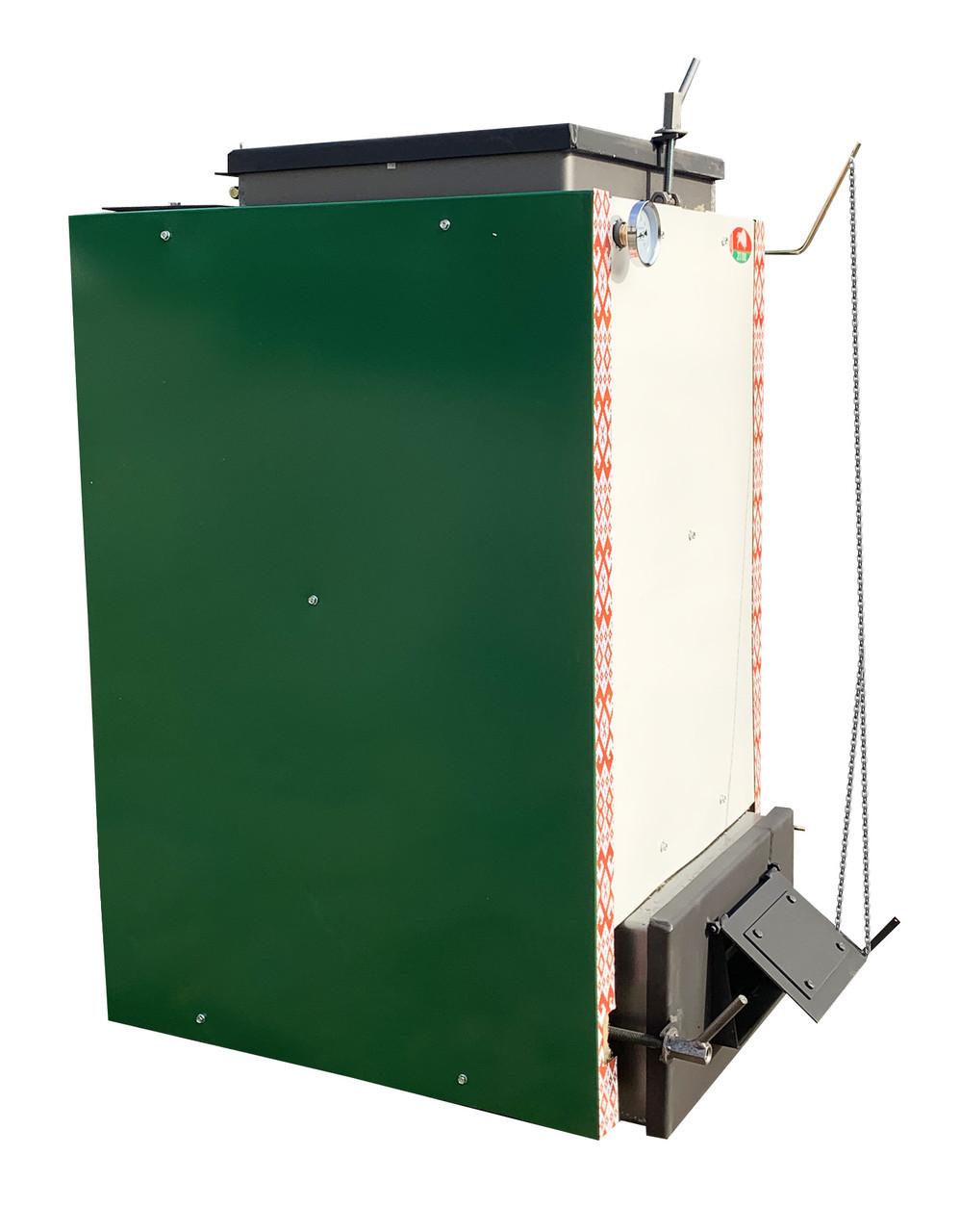 Шахтный котел Холмова Zubr-Termo - 30 кВт. Сталь 5 мм!