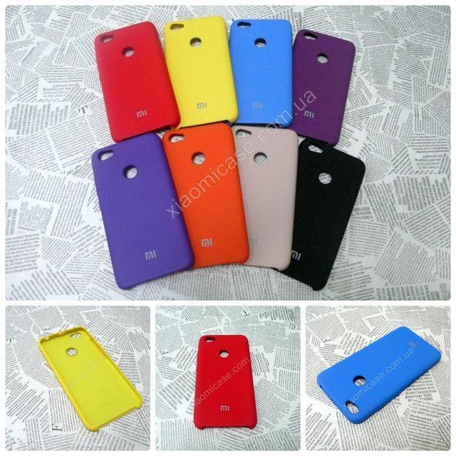 Резиновый брендовый Soft-touch чехол  для Xiaomi (Ксиоми) Mi A1 / 5X