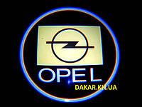 Проектор логотипу Opel в автомобільні двері Опель