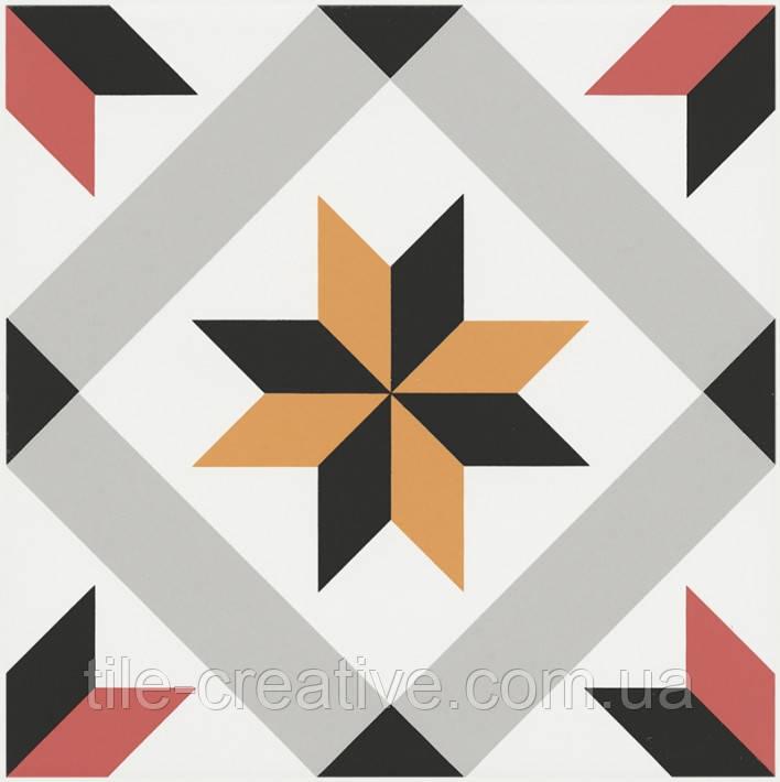 Керамическая плитка Декор Ателье 20х20х6,9 NT\B243\5009