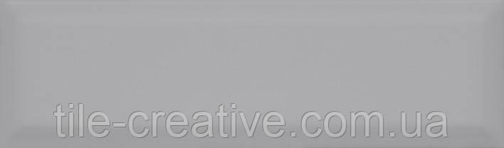 Керамическая плитка Аккорд серый грань 8,5х28,5х9,2 9014