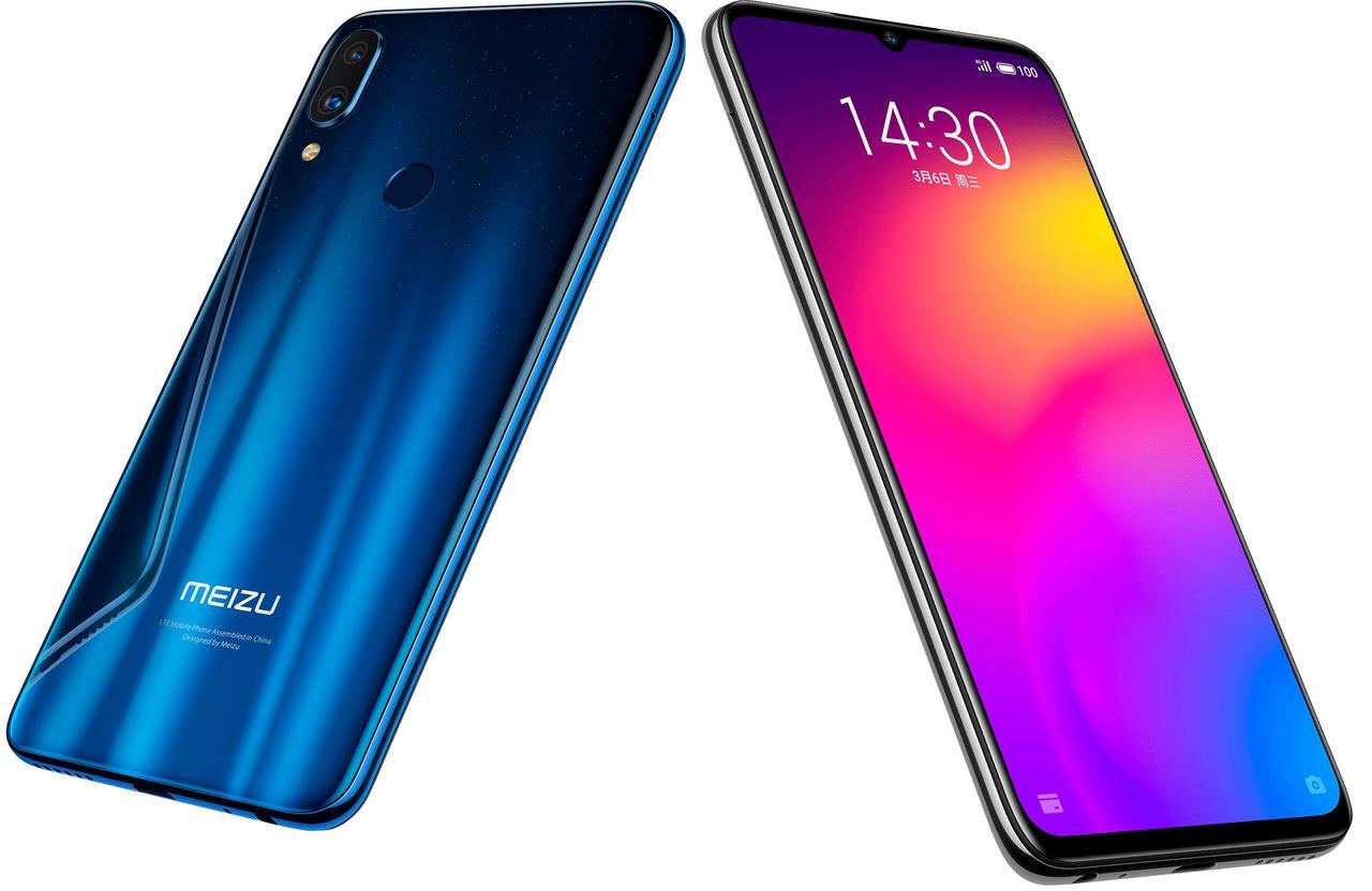 Безрамочный смартфон Meizu Note 9 4/64Gb, Blu ,Global Version