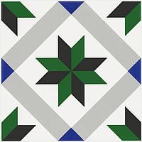 Керамическая плитка Декор Ателье 20х20х6,9 NT\A243\5009