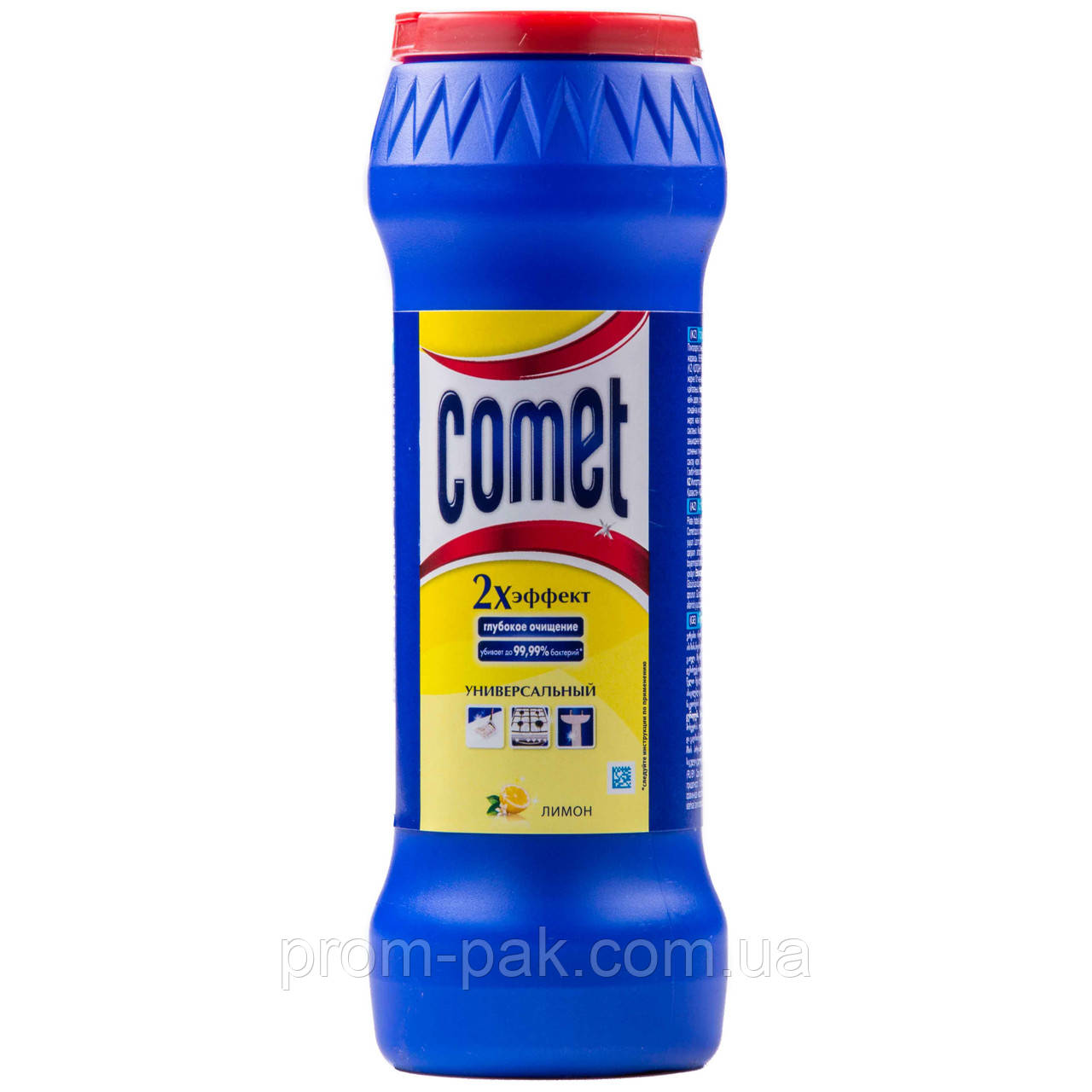 Чистящий порошок Comet Универсальный 500 мл лимон с хлорином