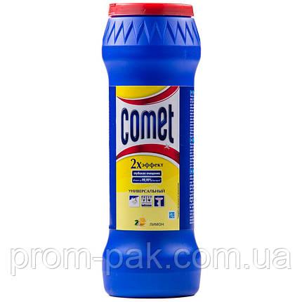 Чистящий порошок Comet Универсальный 500 мл лимон с хлорином, фото 2