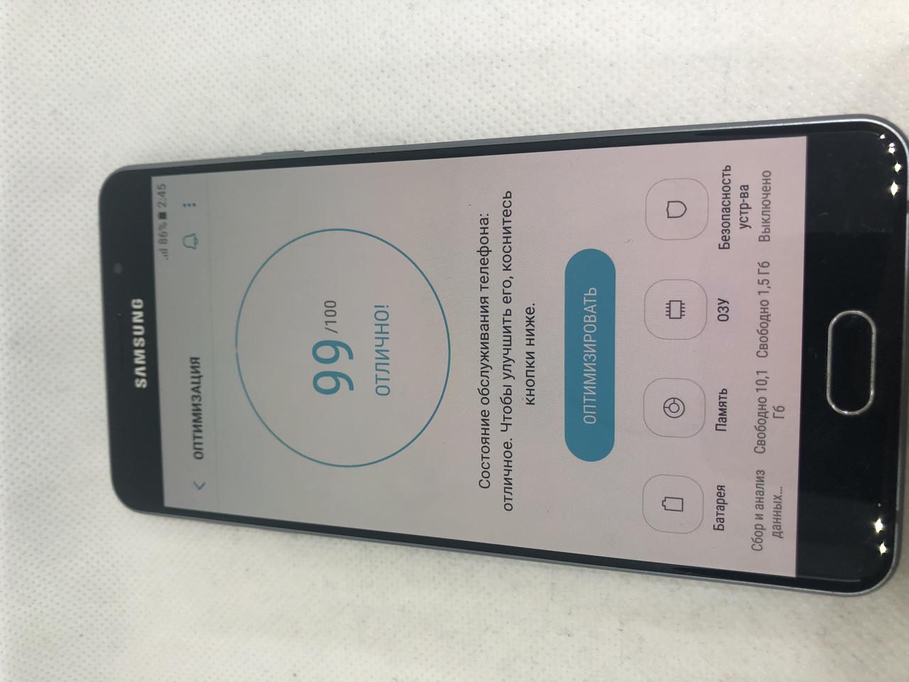Мобильный телефон Samsung Galaxy A7 2016 Duos SM-A710 16Gb black 275ВР