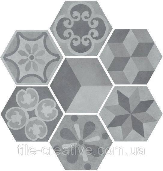 Керамическая плитка Пуату микс20х23,1х7 SG23032N