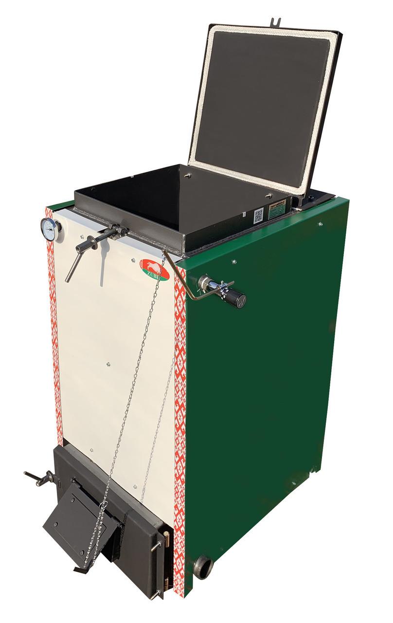Белорусский шахтный котел Холмова Zubr-Termo - 10 кВт. Сталь 5 мм!