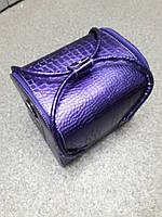 Сумка майстра фіолетова