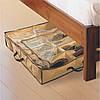 Компактный органайзер для хранения обуви Shoes under server   сумка для обуви, фото 4