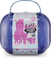 Лол чемодан Мега-Сюрприз зимнее диско. L.O.L. Surprise Winter Disco Bigger Surprise (421627)
